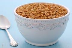 Heerlijk en gezond granolagraangewas Stock Foto