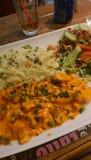 Heerlijk en smakelijk voedsel - Cyprus Stock Fotografie