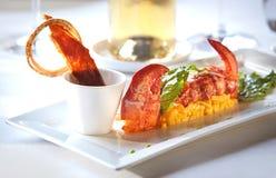 Heerlijk gastronomisch voedsel Stock Foto's