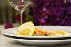 Heerlijk gastronomisch voedsel royalty-vrije stock afbeeldingen