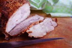 Heerlijk gebakken vlees royalty-vrije stock fotografie