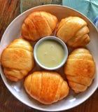 Heerlijk gestoomd broodje stock fotografie