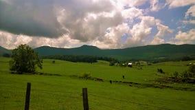 Heerlijk landschap terwijl het vacationing tijdens de zomer in Arkansas en Tennessee royalty-vrije stock afbeelding