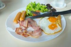 Heerlijk ontbijt royalty-vrije stock fotografie