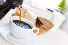 Heerlijk ontbijt royalty-vrije stock foto