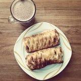 Heerlijk ontbijt royalty-vrije stock foto's