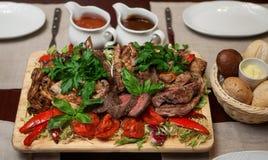 Heerlijk rundvlees Stock Foto
