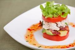 Heerlijk salade of voorgerecht royalty-vrije stock fotografie