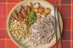 Heerlijk veganistvoedsel Royalty-vrije Stock Foto's