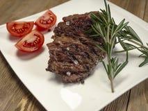 Heerlijk vers heet lapje vlees royalty-vrije stock foto's