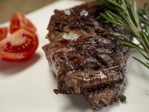 Heerlijk vers heet lapje vlees stock afbeeldingen