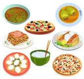 Heerlijk voedsel Royalty-vrije Stock Foto's