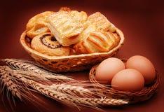 Heerlijke bakkerij Stock Foto