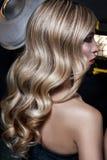 Heerlijke Blonde Krullen Royalty-vrije Stock Afbeeldingen