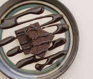 Heerlijke Brownies stock afbeelding