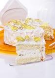 Heerlijke cake. stock foto