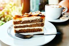 Heerlijke cake Stock Afbeelding