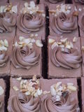 Heerlijke cake Royalty-vrije Stock Afbeeldingen