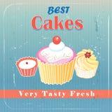 Heerlijke cakes Royalty-vrije Stock Afbeeldingen