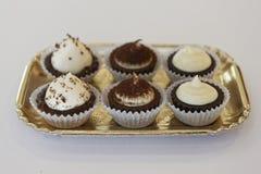 Heerlijke cakes Stock Fotografie