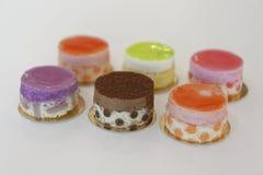 Heerlijke cakes royalty-vrije stock afbeelding
