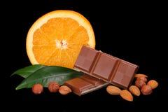 Heerlijke Chocolade royalty-vrije stock foto's