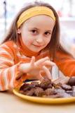 Heerlijke chocolade Stock Foto