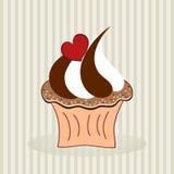 Heerlijke cupcake Stock Fotografie