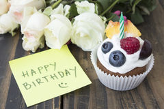 Heerlijke Cupcake met Stock Afbeeldingen