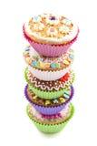 Heerlijke cupcakes Stock Afbeeldingen