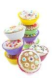 Heerlijke cupcakes Stock Foto's
