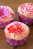 Heerlijke cupcakes Royalty-vrije Stock Afbeelding