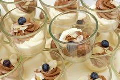Heerlijke desserts Stock Fotografie