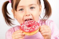 Heerlijke doughnut stock foto's