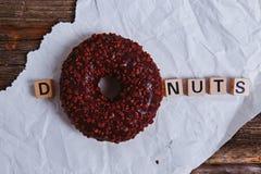 Heerlijke Doughnut Royalty-vrije Stock Foto