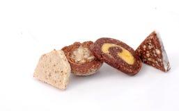 Heerlijke eigengemaakte snoepjes Stock Afbeelding
