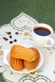 Heerlijke Franse gebakjes Royalty-vrije Stock Afbeelding