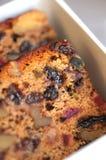 Heerlijke fruitcake Royalty-vrije Stock Foto's