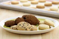 Heerlijke geassorteerde koekjes Royalty-vrije Stock Afbeelding