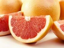 Heerlijke grapefruits stock foto's