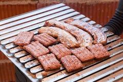 Heerlijke grill Stock Foto