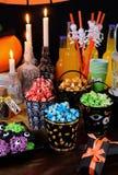 Heerlijke Halloween-Voorgerechten stock fotografie