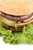 Heerlijke hamburger royalty-vrije stock fotografie