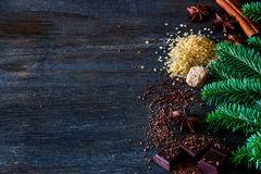 Heerlijke hete chocolade Royalty-vrije Stock Fotografie