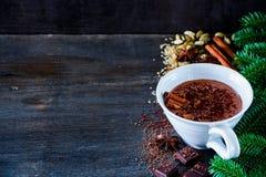 Heerlijke hete chocolade Royalty-vrije Stock Foto