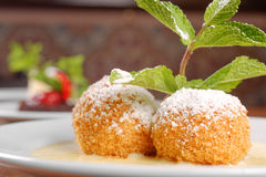 Heerlijke Hongaarse dessertclose-up Stock Afbeelding