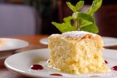 Heerlijke Hongaarse dessertclose-up Stock Fotografie