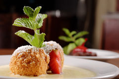 Heerlijke Hongaarse dessertclose-up Royalty-vrije Stock Fotografie