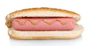 Heerlijke hotdog Stock Afbeelding