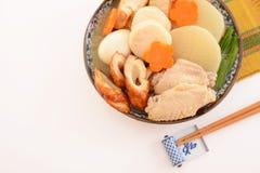 Heerlijke Japanse braadpan stock afbeeldingen
